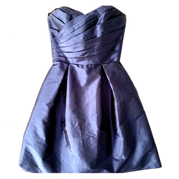 ALFRED SUNG Dresses & Skirts - Alfred Sung Strapless Cocktail dress ladies size 2